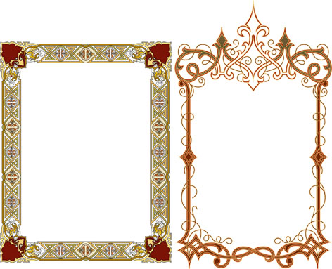 طرح قاب آینه معرق منبت مشبک ، الگوی قاب آینه