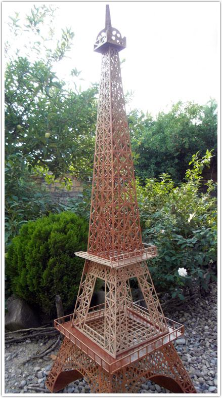 برج ایفل معرق،نمونه کار برج ایفل،برج ایفل